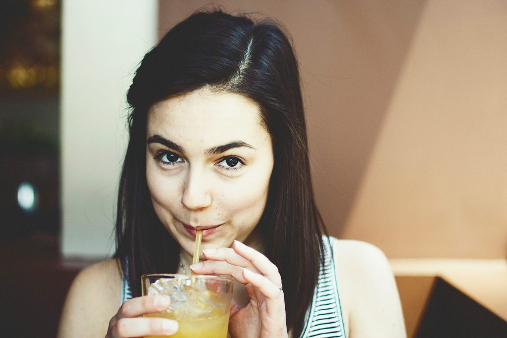 woman-drinking-her-juice-small